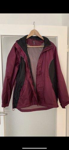 Crivit Raincoat purple-black