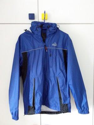 McKinley Raincoat blue-neon blue