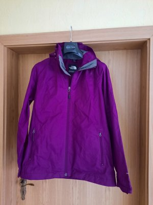 The North Face Heavy Raincoat blackberry-red