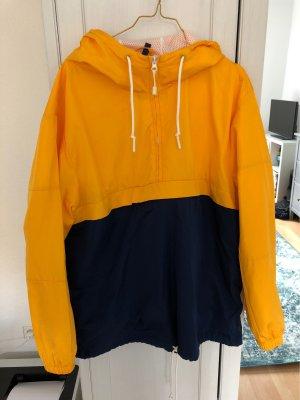 H&M Regenjas donkerblauw-geel