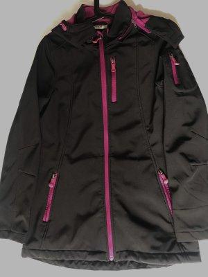 Kik Raincoat black-purple