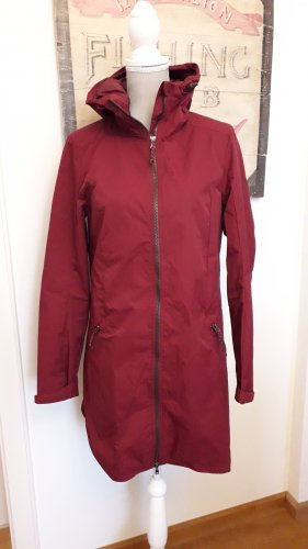 UP Fashion Raincoat blackberry-red