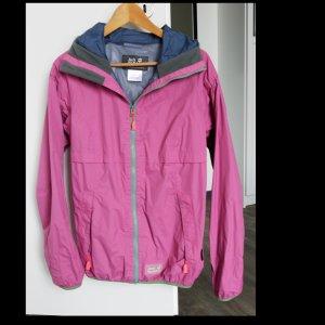 Jack Wolfskin Outdoor Jacket pink-grey polyamide