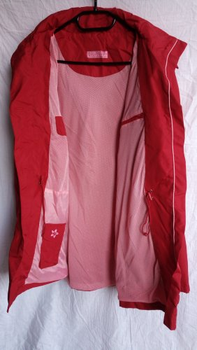Tchibo / TCM Chubasquero rojo poliamida