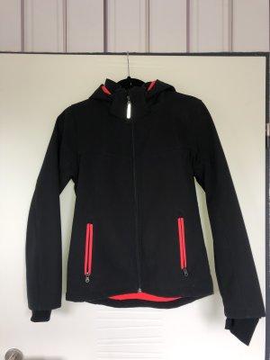 H&M Impermeabile nero-magenta