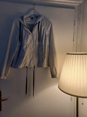 H&M Imperméable blanc-noir