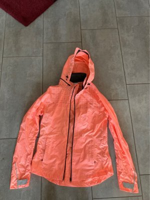 Decathlon Raincoat salmon