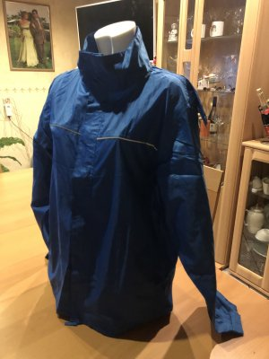 Crane Heavy Raincoat blue