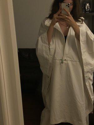 Zara Poncho de pluie blanc-blanc cassé