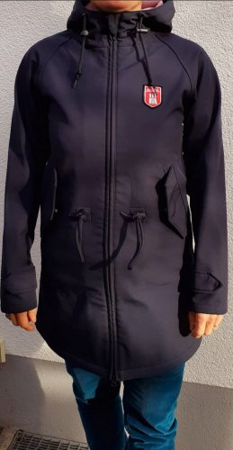 Derbe Raincoat dark blue