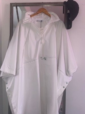 Zara Imperméable blanc