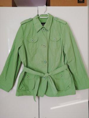 Gerry Weber Impermeabile verde chiaro