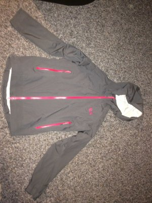 Raincoat grey-pink