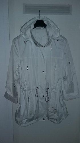 Raincoat white