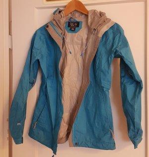 Mountain Hard Wear Raincoat neon blue