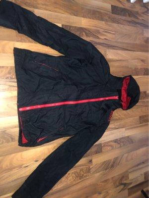 Kangaroos Raincoat black-red