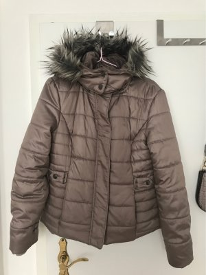 Orsay Hooded Coat multicolored