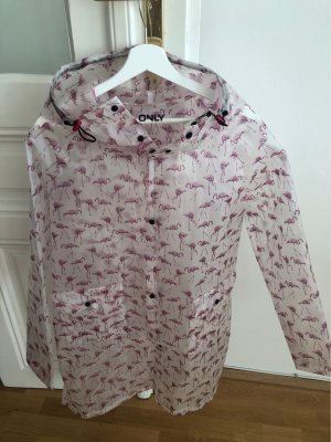 Only Raincoat white-pink