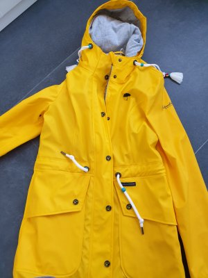 Schmuddelwedda Heavy Raincoat yellow-gold orange