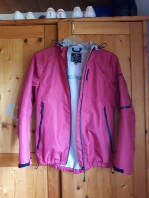 Regenjacke pink