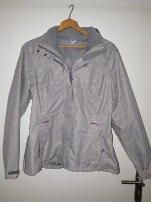 Quechua Impermeabile grigio