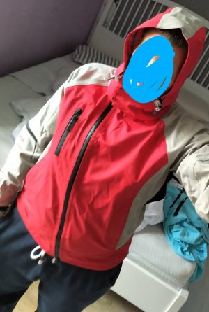 Kein Outdoor Jacket grey-red nylon