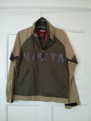 Nikita Raincoat olive green-khaki nylon