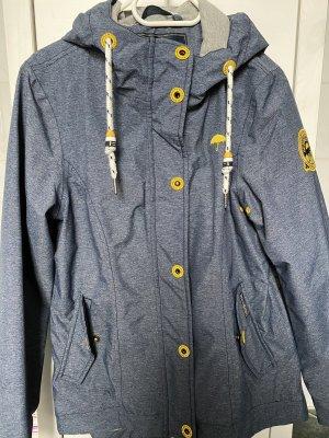 Schmuddelwedda Raincoat slate-gray