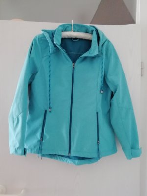 laura tarelli Imperméable turquoise polyester