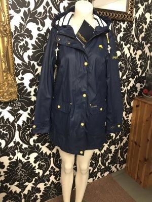 Schmuddelwedda Heavy Raincoat dark blue