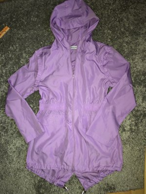 Heavy Raincoat purple
