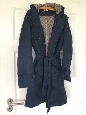 Seasons Heavy Raincoat dark blue