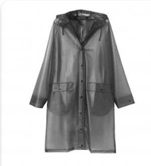 Becksöndergaard Heavy Raincoat grey