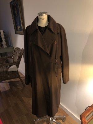 Left Hand Manteau de pluie brun foncé