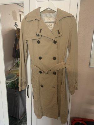 Mango Basics Manteau de pluie beige clair