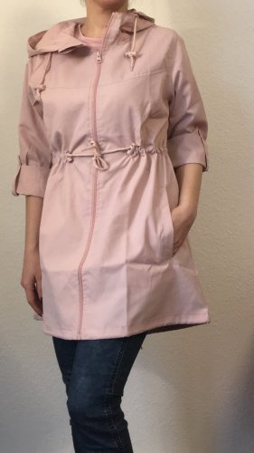 Colloseum Heavy Raincoat dusky pink