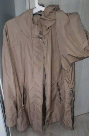 Taifun Płaszcz przeciwdeszczowy szaro-brązowy-jasnobrązowy
