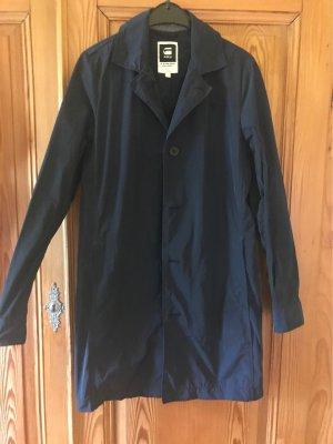 G-Star Raw Płaszcz przeciwdeszczowy ciemnoniebieski Poliester