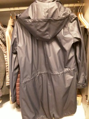 Soyaconcept Heavy Raincoat blue polyester