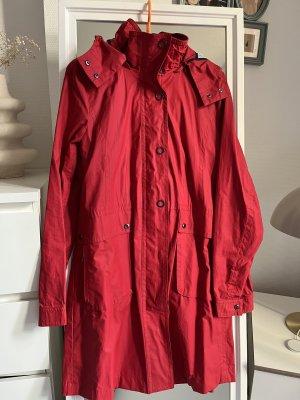Comma Raincoat dark red-carmine