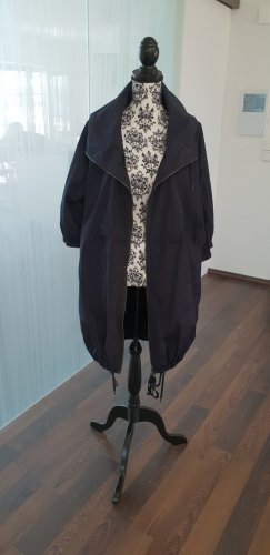 Marni at H&M Heavy Raincoat dark blue