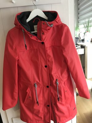 Tom Tailor Heavy Raincoat red