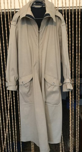 Diesel Black Gold Manteau de pluie beige clair coton