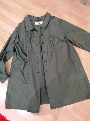 Made in Italy Heavy Raincoat olive green-khaki
