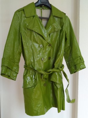 Katia g. Manteau de pluie vert gazon