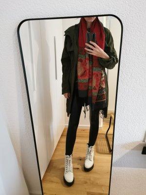 Coat Dress brick red-khaki