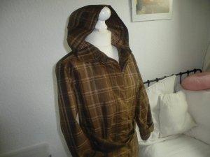 Heavy Raincoat bronze-colored-beige mixture fibre