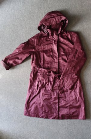 Blue Motion Heavy Raincoat purple-blackberry-red polyester