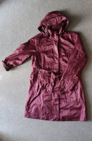 Blue Motion Manteau de pluie violet-rouge mûre polyester