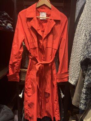Mango Suit Chubasquero pesado rojo